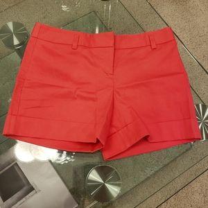 NWOT - Express coral shorts